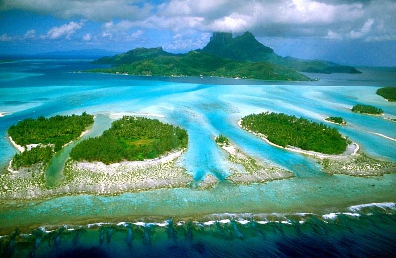 L'île Bora Bora
