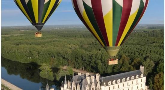 Découvrez la magie d'un vol en ballon à Amboise