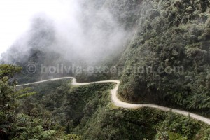 Ruta de la Muerte, Yungas, Bolivia