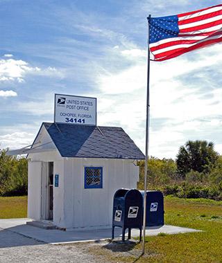 Le plus petit bureau de Poste américain