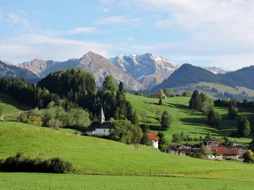 berghofer-chapel - Sonthofen