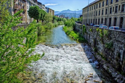 Chambéry, en France