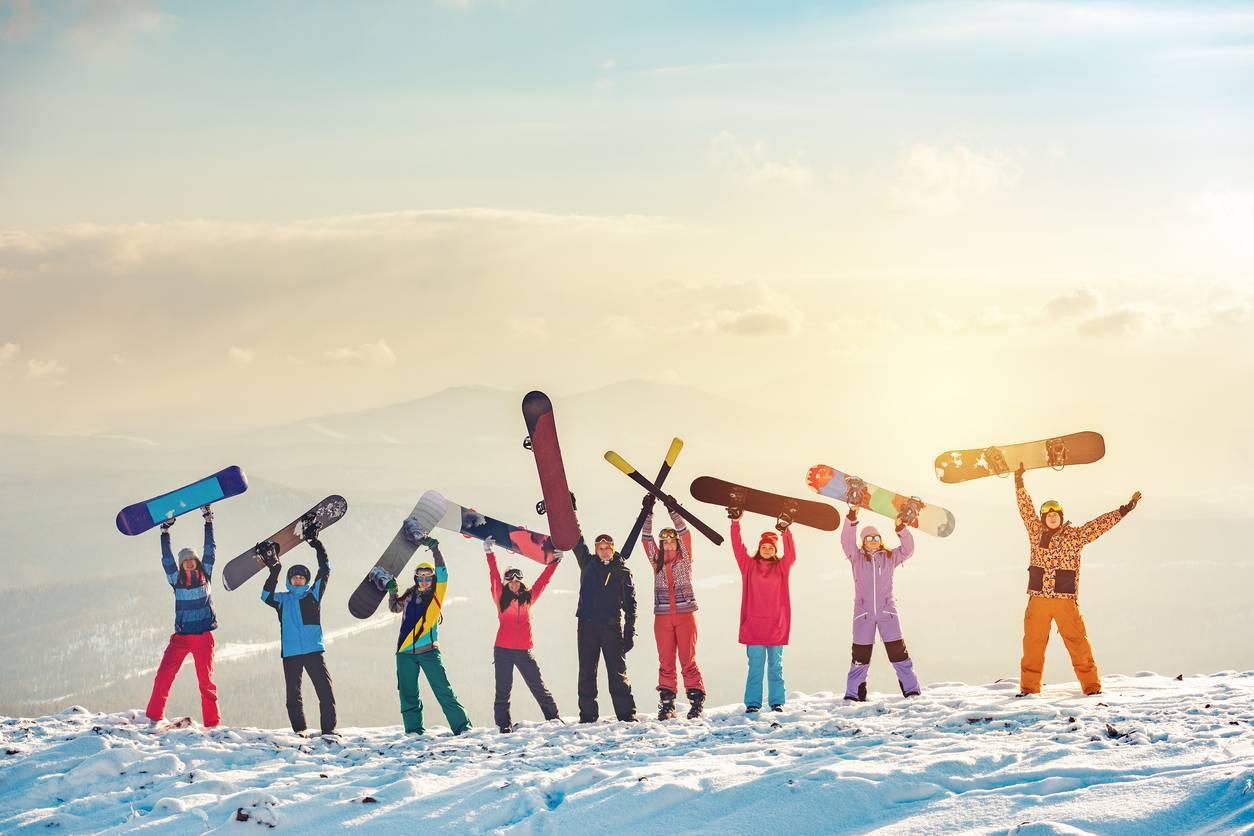 partir en voyage au ski
